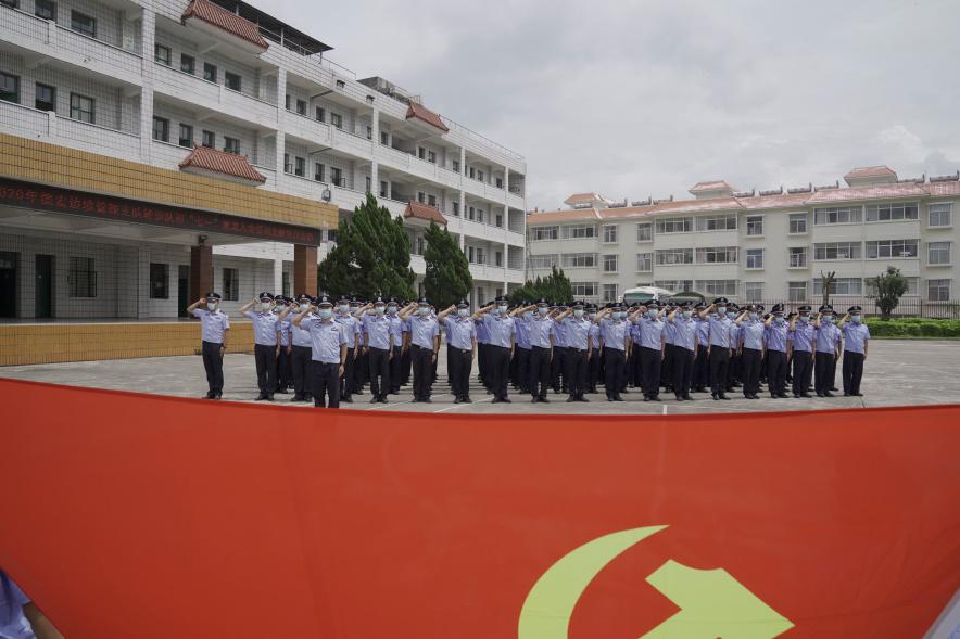 """""""七一""""建党节,云南德宏这群移民管理警察这样为党庆生"""