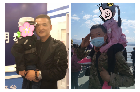 云南大理:刚毅温柔的警察爸爸