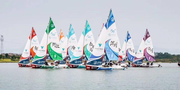 厦门海洋职业技术学院帆船队斩获2021中国帆船城市超级联赛(青岛站)冠军